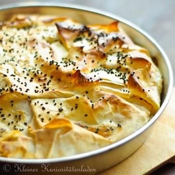 Rezept Peynirli Börek - türkischer Käsestrudel