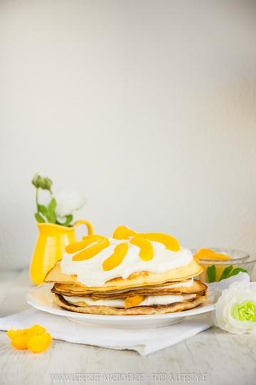 Rezept Pfannkuchen-Torte mit Obst