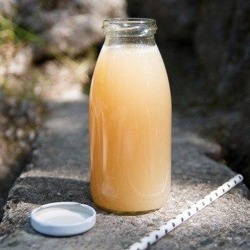Rezept Pfirsich-Basilikum-Limonade
