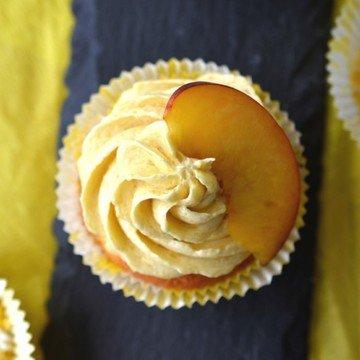 Rezept Pfirsich-Cupcakes