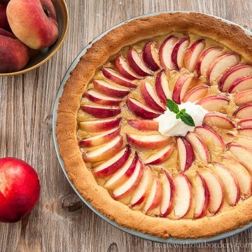 Rezept Pfirsich-Eistee-Tarte