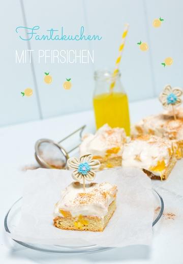 Rezept Pfirsich-Fantakuchen