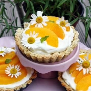 Rezept Pfirsich Kamille Tartelettes
