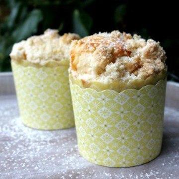 Rezept Pfirsich-Streusel-Muffins