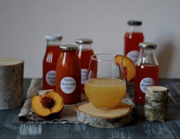 Rezept Pfirsich-Zitronenthymiansirup