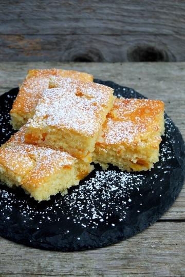 Rezept Pfirsichkuchen vom Blech