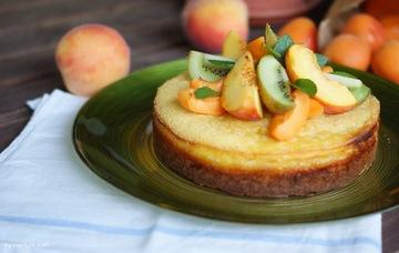 Rezept Pfirsichmousse-Torte
