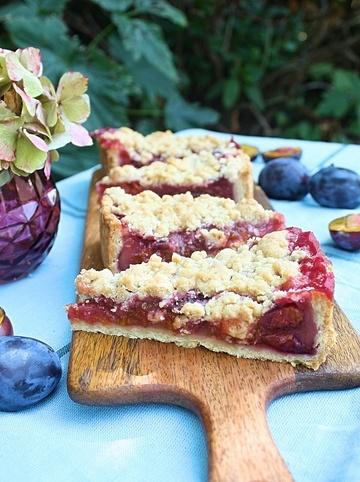 Rezept Pflaumenkuchen mit Zimtstreusel