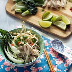 Rezept Pho ga - Vietnamesische Hühnersuppe mit Reisnudeln