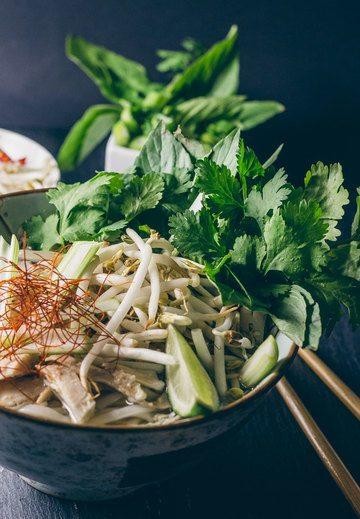 Rezept Pho Ga – Vietnamesische Nudelsuppe mit Huhn