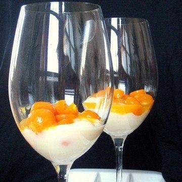 Rezept Physaliskompott auf Vanille-Ricotta-Joghurt