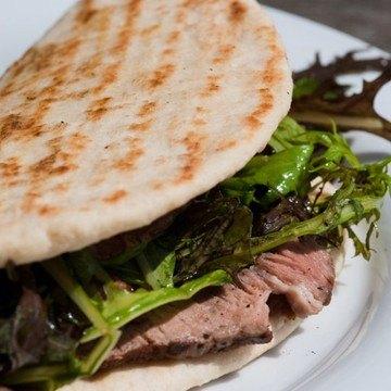 Rezept Piadine mit Steak und Gorgonzola