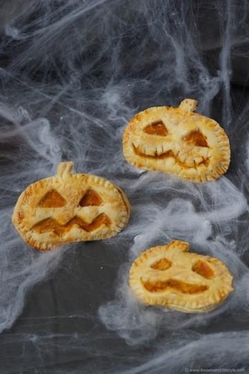 Rezept Pikante Halloween Hand Pies