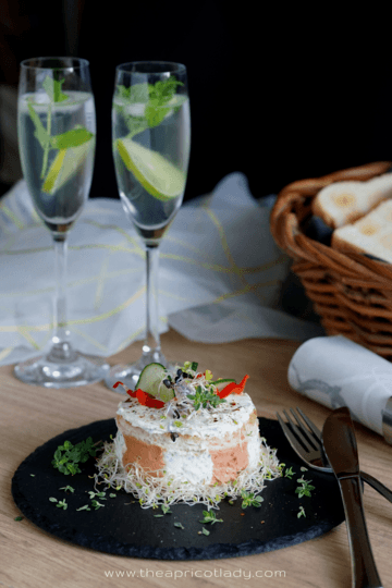 Rezept pikante Mini-Cheesecakes