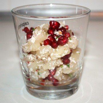 Rezept Pikanter Ananas-Kokos-Salat