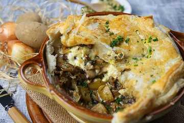 Rezept Pilz-Käse-Pastete
