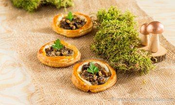 Rezept Pilze Tartelettes