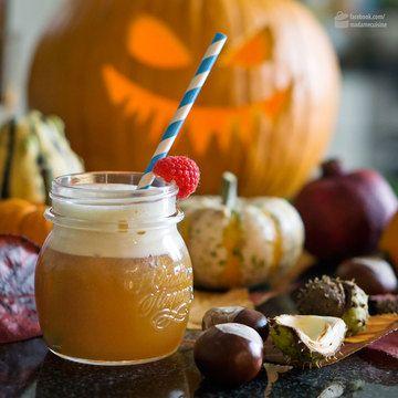 Rezept Pimm's Punsch - ein Halloween Cocktail