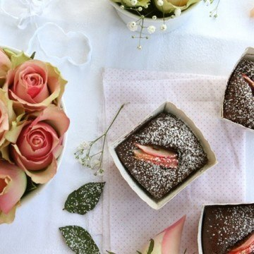 Rezept Pink Lady Chocolate Cakes