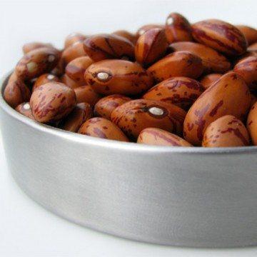 Rezept Pinto-Bohnen und Reis in Kokosmilch mit Speck