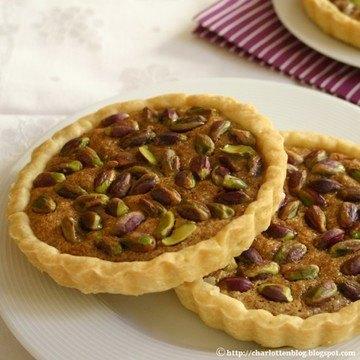 Rezept Pistazien-Mandel-Tartelettes