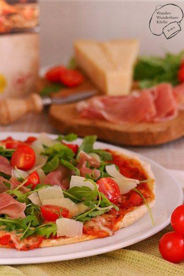 Rezept Pizza Tricolore