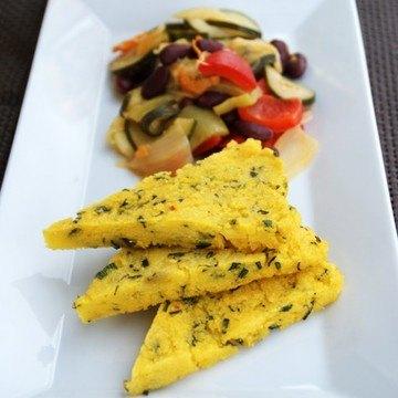 Rezept Polenta-Schnitten mit Sommergemüse