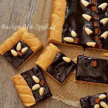 Rezept Polnische Mazurek mit Schokolade