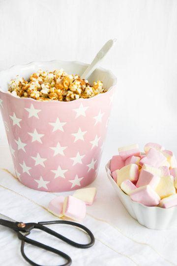 Rezept Popcorn mit Erdnussbutter