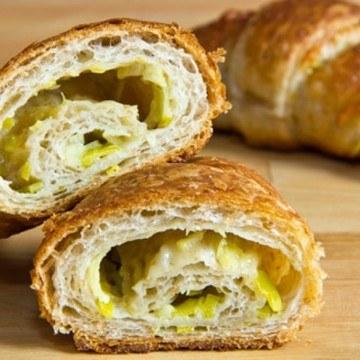 Rezept Porree-Käse-Croissants