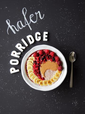 Rezept Porridge mit Beeren & Banane