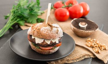 Rezept Portobello-Burger (Riesenpilz)
