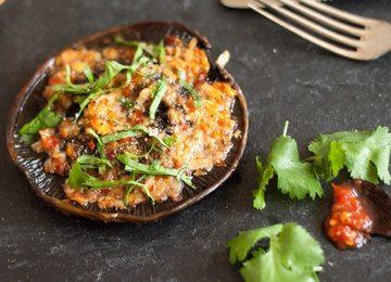 Rezept Portobello-Campignons mit Sambal und Koriander
