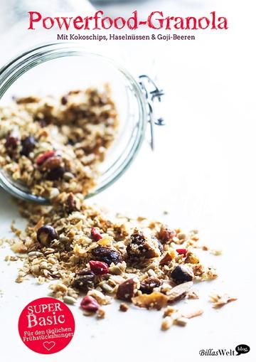 Rezept Powerfood-Granola