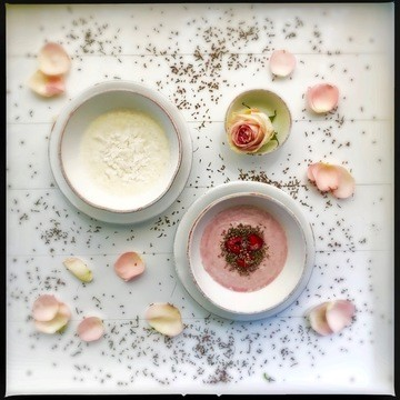 Rezept Prinzessinnen Frühstück nach Schneeweisschen und Rosenrot