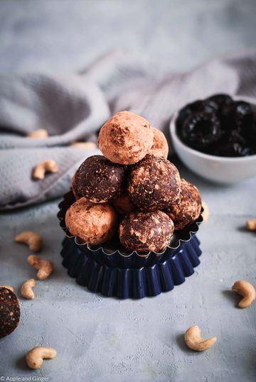 Rezept Protein Energy Balls mit Schokolade