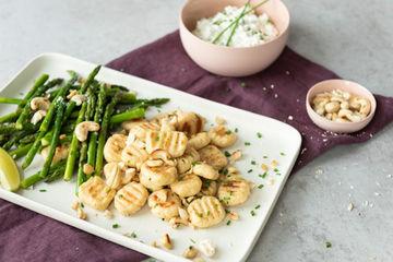 Rezept Protein-Gnocchi mit Hüttenkäse