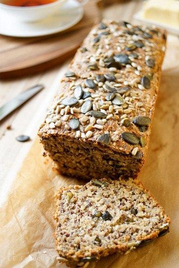 Rezept Protein Power Brot voller Körner