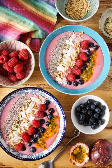 Rezept Protein Smoothie Bowl