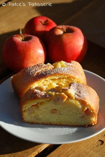 Rezept Pudding-Wickelkuchen mit Zimtäpfeln