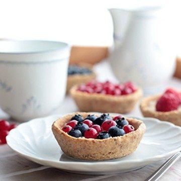 Rezept Puddingnester mit Sommerfrüchten
