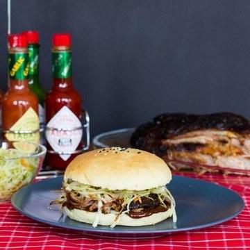 Rezept Pulled Pork Burger aus dem Ofen