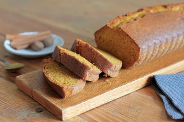 Rezept Pumpkin Bread - Kürbiskuchen