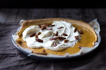 Rezept PUMPKIN CUSTARD PIE