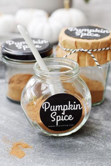 Rezept Pumpkin Pie Spice - ganz einfach selbstgemacht (mit Etikett zum Downloaden!)