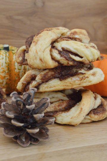 Rezept Pumpkin-Spice-Knoten