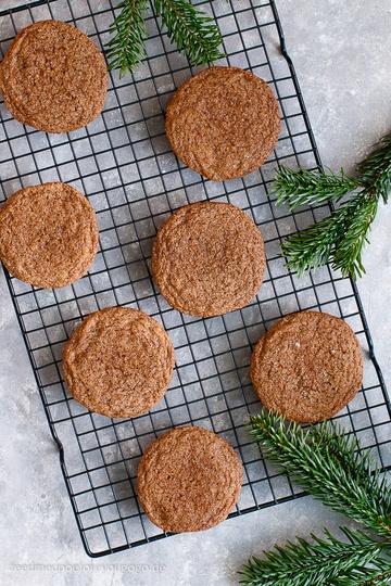 Rezept Pumpkin-Spice-Melasse-Kekse