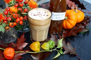 Rezept Pumpkin Spice Sirup mit herbstlichen Gewürzen