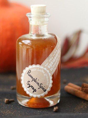 Rezept Pumpkin Spice Syrup