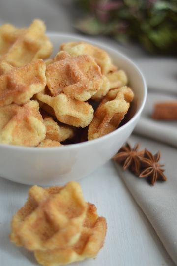 Rezept Pumpkin-Spiced-Knusperwaffeln